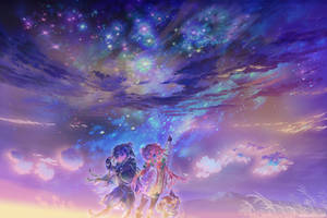 Yuru Camp   Rin + Nadeshiko