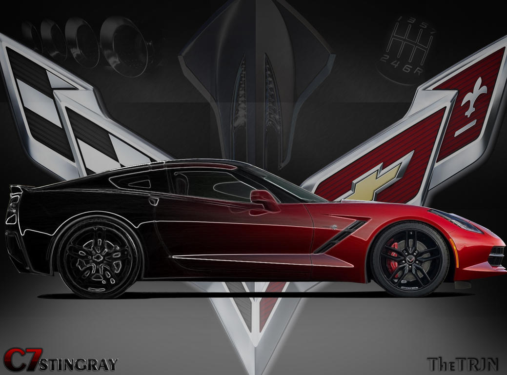 Corvette C7 Wallpaper By Thetrjn On Deviantart