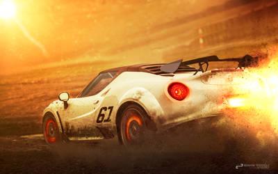 Alfa Romeo 4C SPIDER by TheTRJn