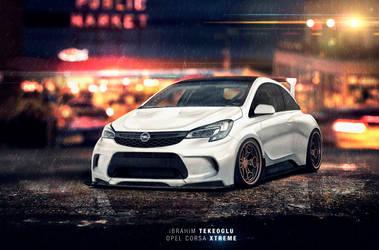 Opel Corsa Xtreme by TheTRJn