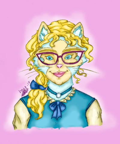 Michelle portrait by Ayrsayle