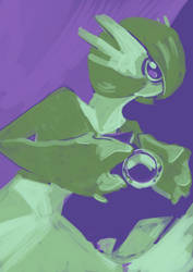 Quick limited palette Gardevoir by Dusclord-005