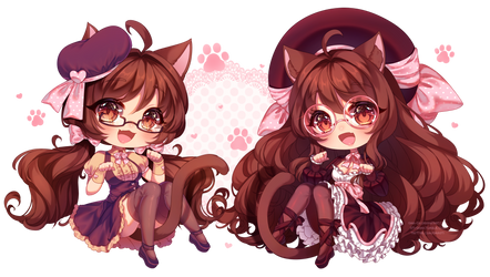 [P] Double Nya! by Oma-Chi