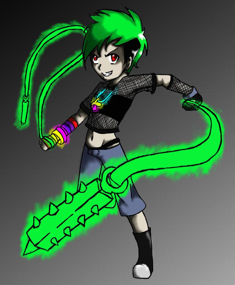 Extreme Rave Girl by JawbreakerCherri