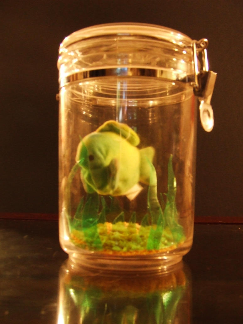 School stuff fish in a jar by pandapenguin on deviantart for Fish in a jar