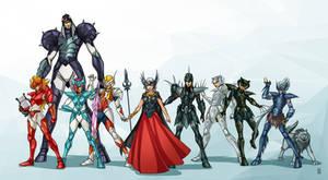 Saint Seiya Asgard team