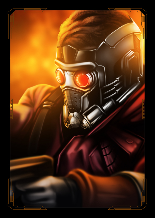 Guardians of the Galaxy Starlord by NZO68