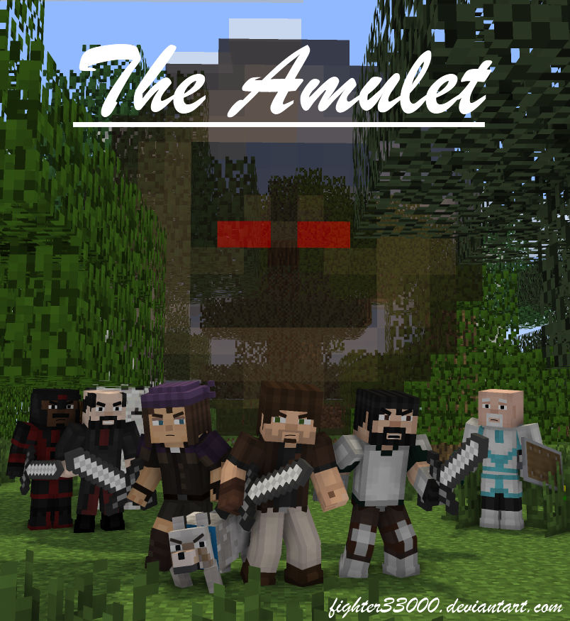 [Comic] The Amulet - Cover Page