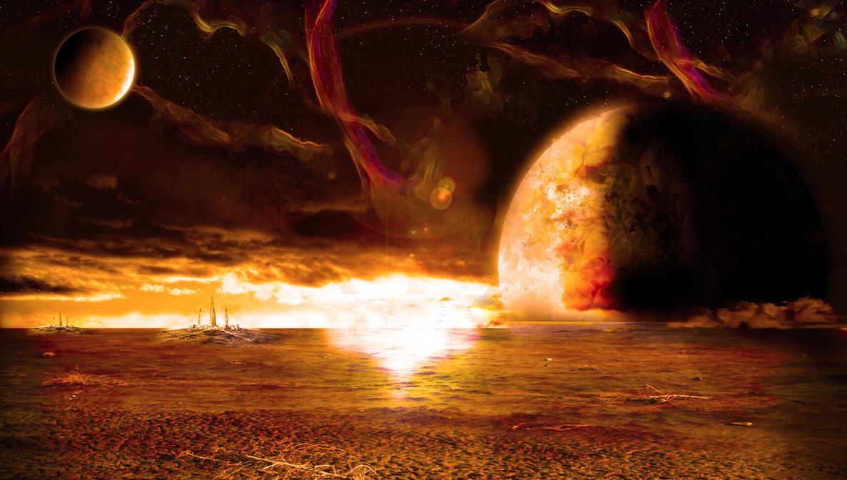 sci fi landscape alien planets - photo #26