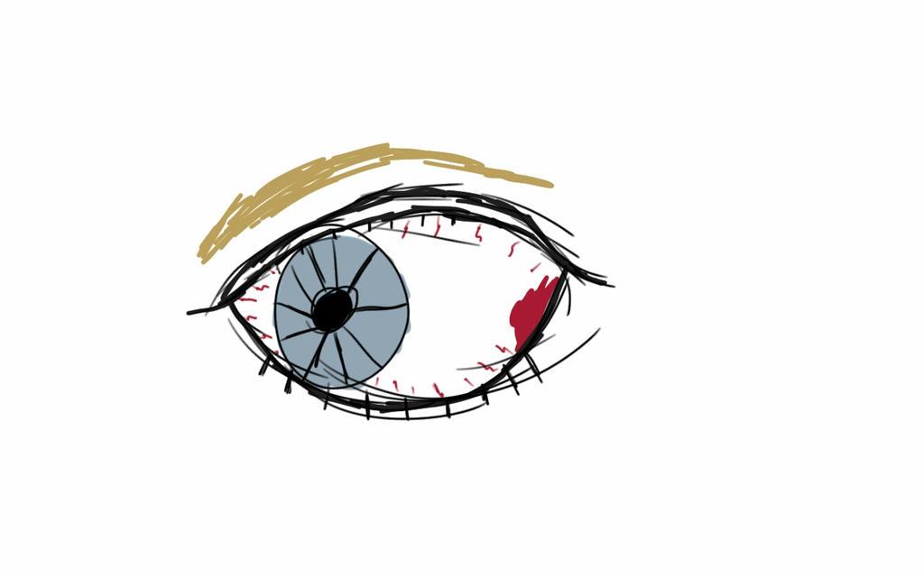 an eye art challenge by rogueassain