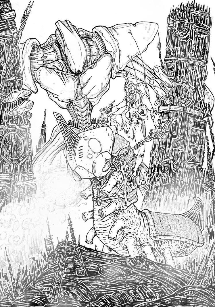 Warriors by Baetones