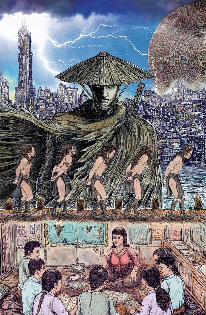 Xibalba Dreams of the West by Baetones
