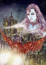 The Garuda Bird by Baetones