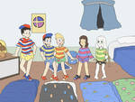 Anonymous Commission- Striped Shirts