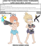 Smash Tournament - Rosalina and Luma vs Cloud by Lance-the-young