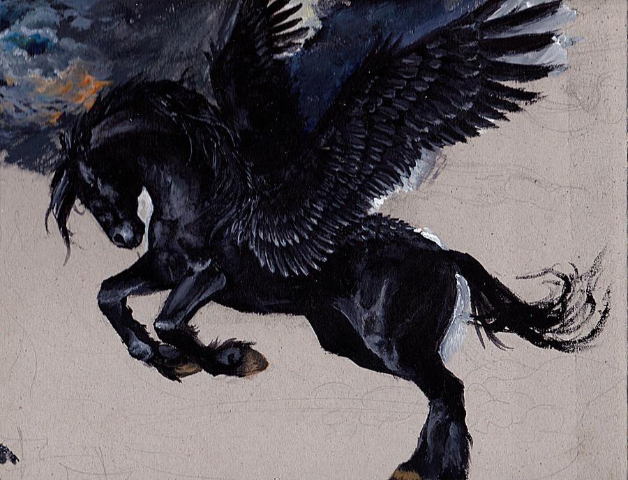 Black pegasus by deikochanBlack Pegasus