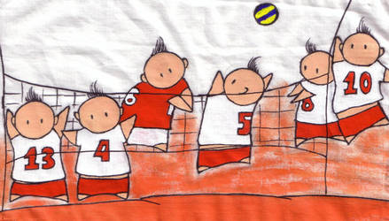 Polish National Volleyball by TheChibis