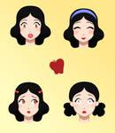 Snow White Faces