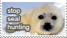Stop Seal Hunting by gwenbarrow
