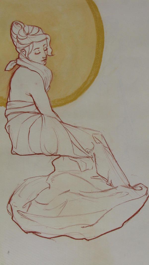Mucha Girl by Fatestouch
