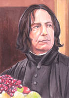 Snape Does Lunch by SarahSilva