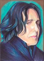 Young Snape by SarahSilva