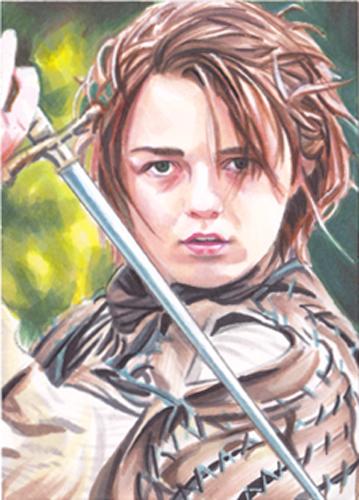 Arya Stark by SarahSilva