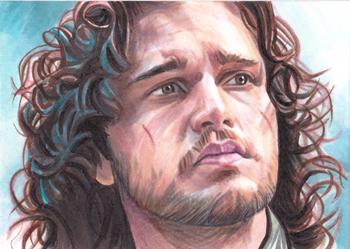 Jon Snow by SarahSilva