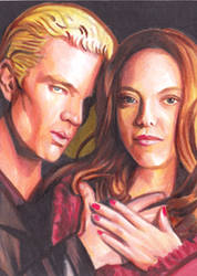 Spike and Drusilla by SarahSilva