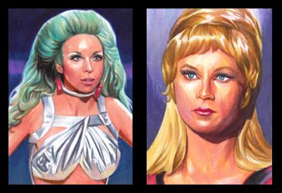 Star Trek Ladies by SarahSilva