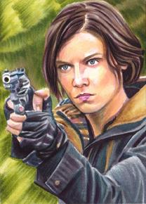 Girl With A Gun by SarahSilva