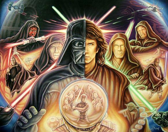 Star Wars Saga by mjmjedi
