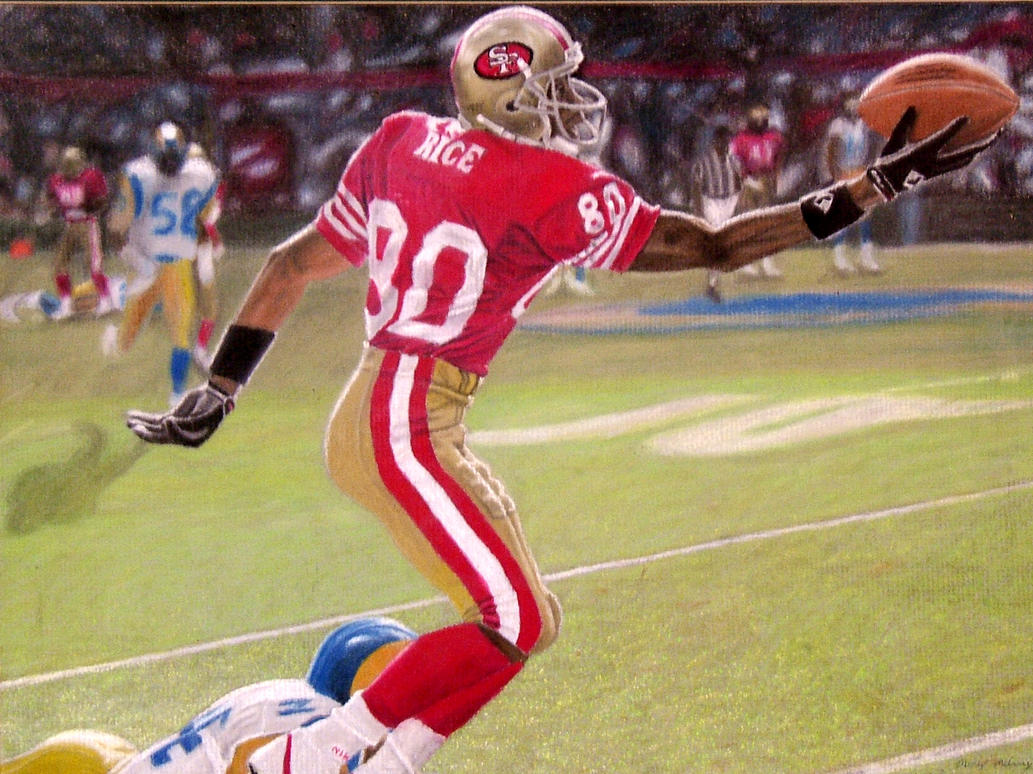 Jerry Rice One Handed Catch