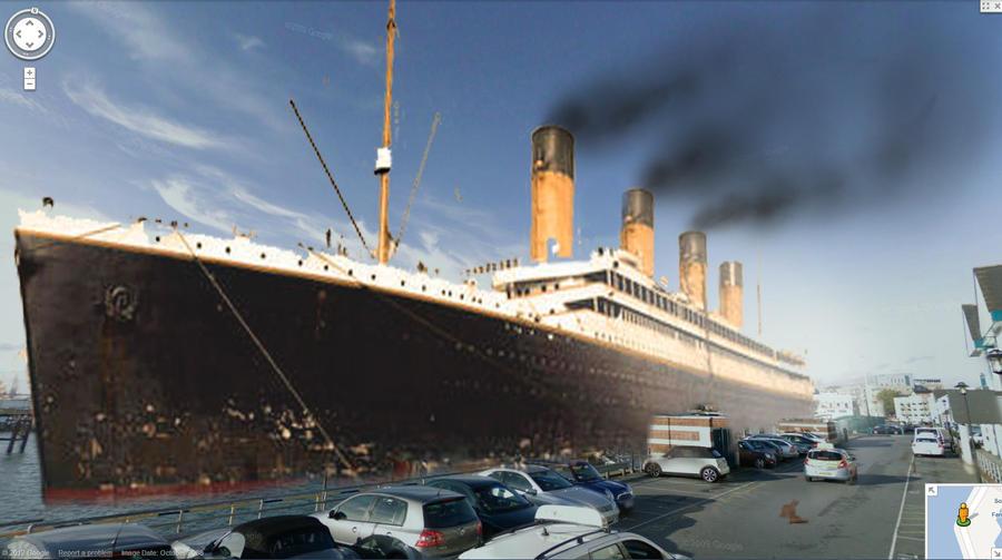 Titanic ghost ship