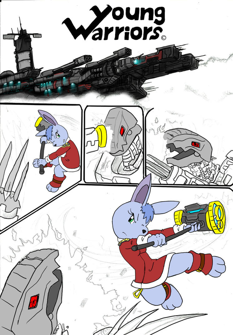 Luna`s escape by Admiral-Kevin