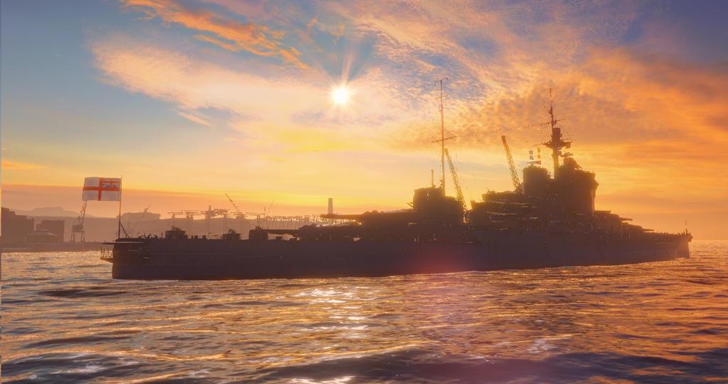 HMS Warspite by Admiral-Kevin