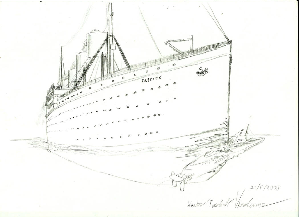 HMT Olympic old by Admiral-Kevin