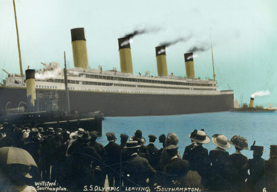 RMS Olympic color by Admiral-Kevin