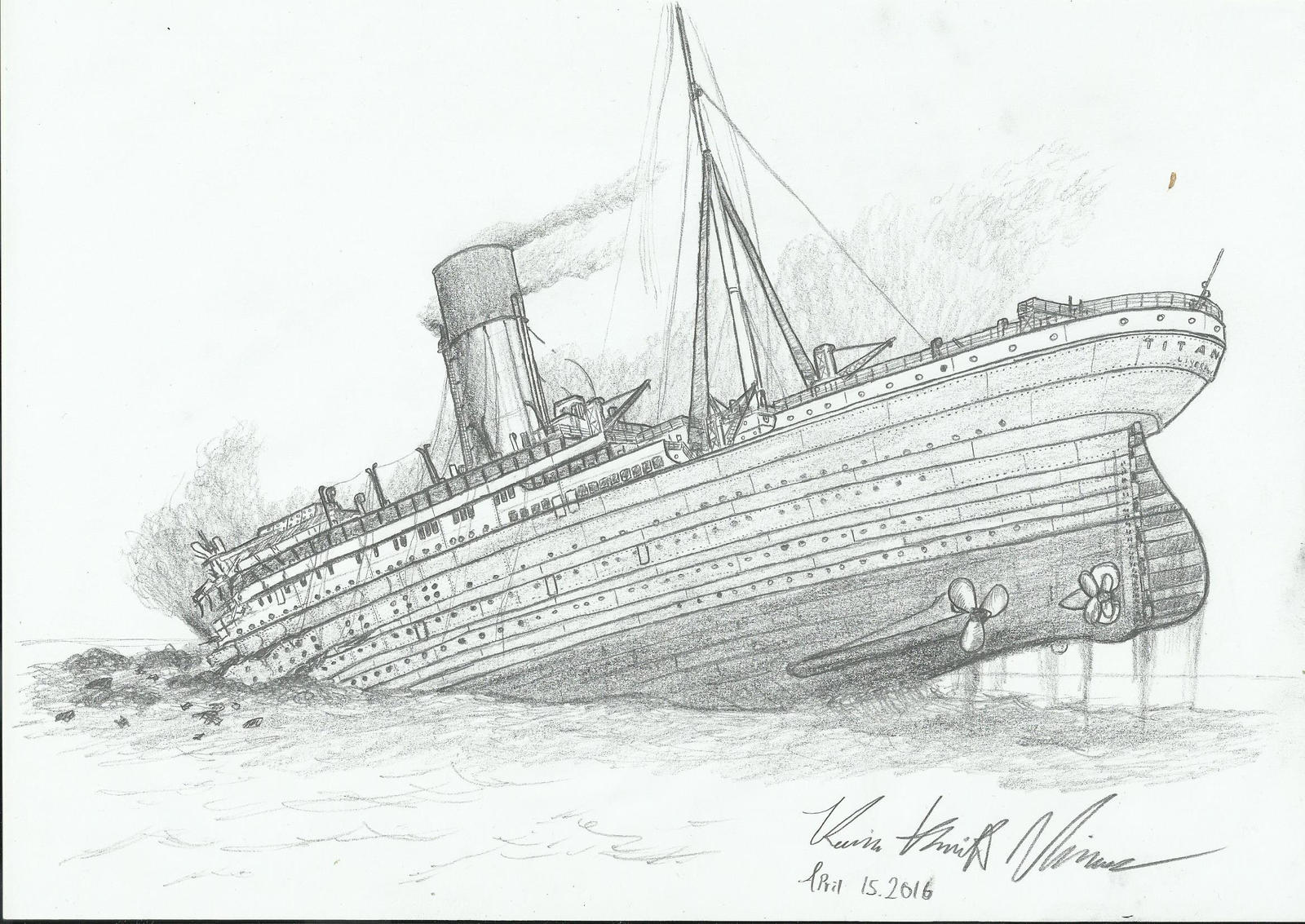 a study on the history of the shipwreck of the rms titanic To titanic shipwreck in 2018 oceangate expeditions says it's planning the first crewed scientific expedition to study the wreck of the rms titanic in  history.