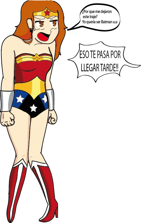 yo como wonder woman by EstimadaAlejandra