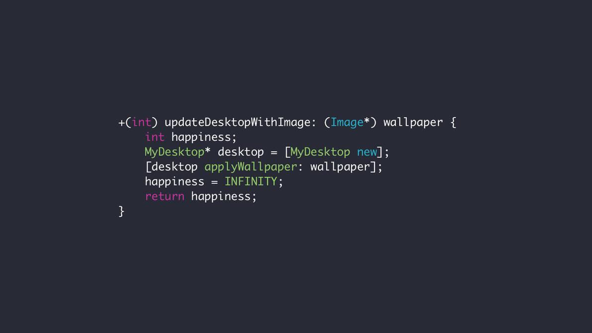 Wallpaper Updatedesktop Obj C By Electriccoffee On