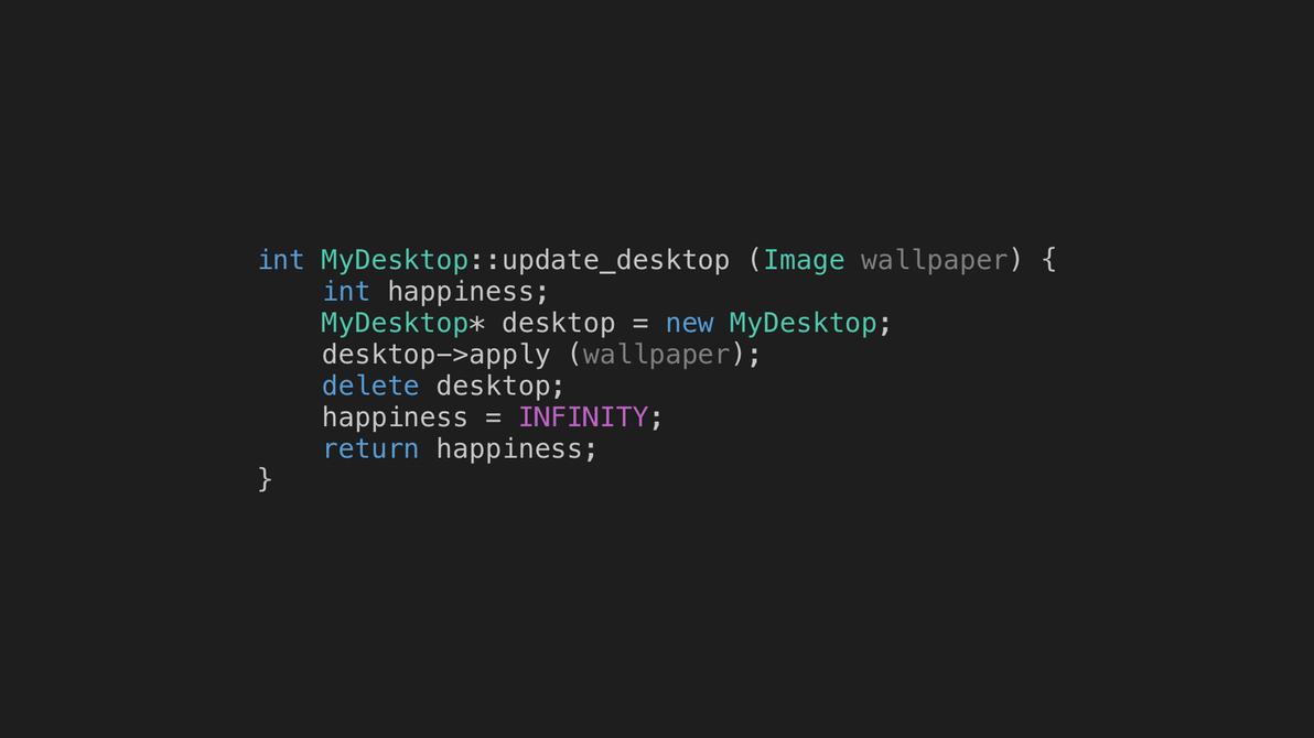 wallpaper - updatedesktop (c++)electriccoffee on deviantart