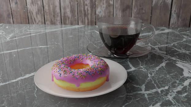 Donut 3D Render 2