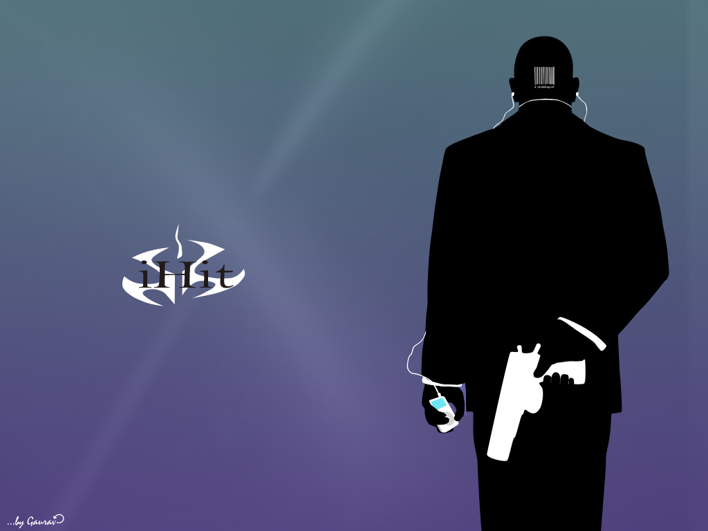 hitman 47 ipod by gaurav-op