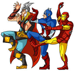 earth's mightiest heroes