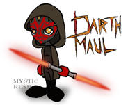 Chibi Darth Maul by mystic-rush