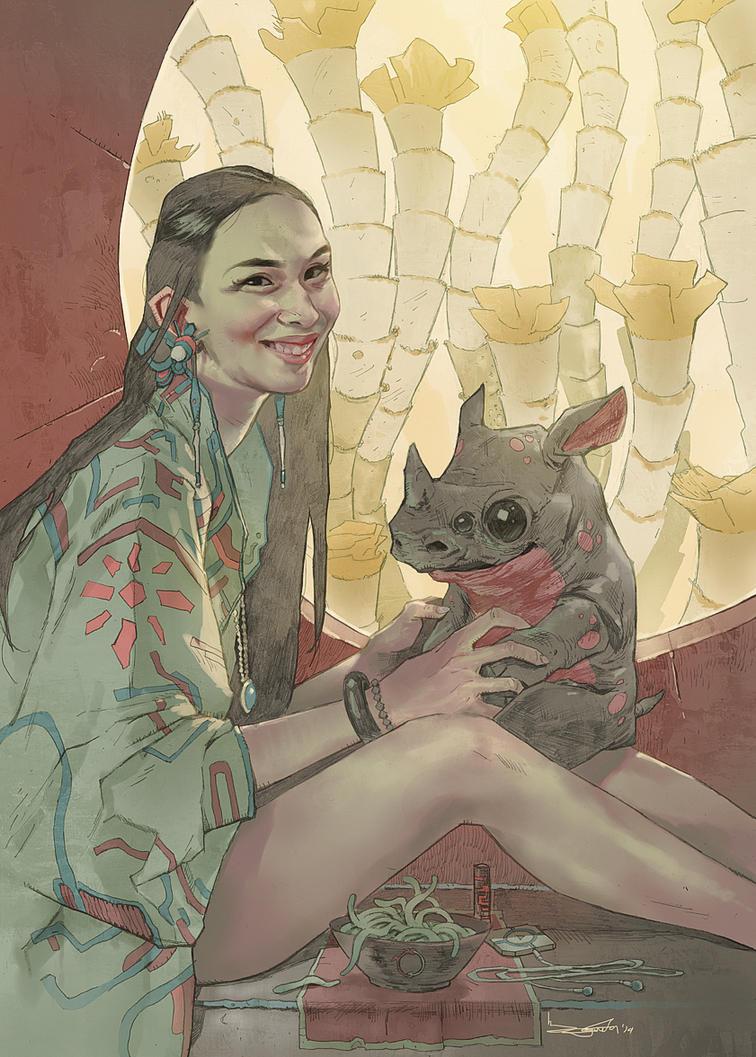rhinoceros by Takrezz