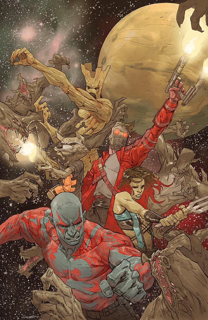 Guardians of the Galaxy by Takrezz