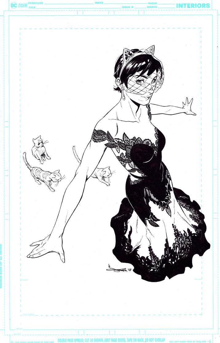 Catwoman wedding dress by Takrezz