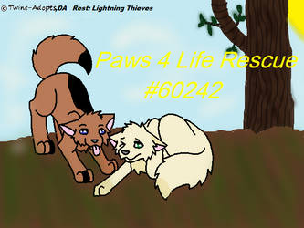 Paws 4 Life Rescue avatar (wpg) by LightningThieves